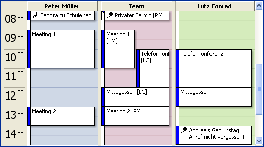 Outlook-Kalender im Team synchronisieren